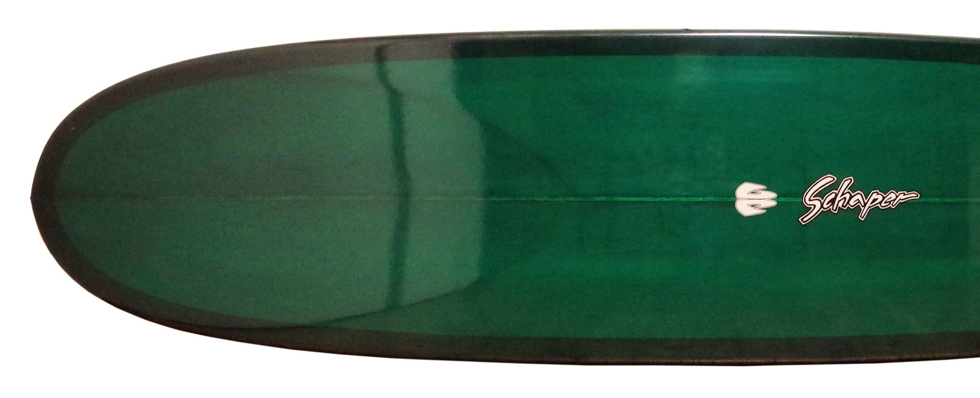 サーフボードのボトムデザイン「ノーズコンケーブ」