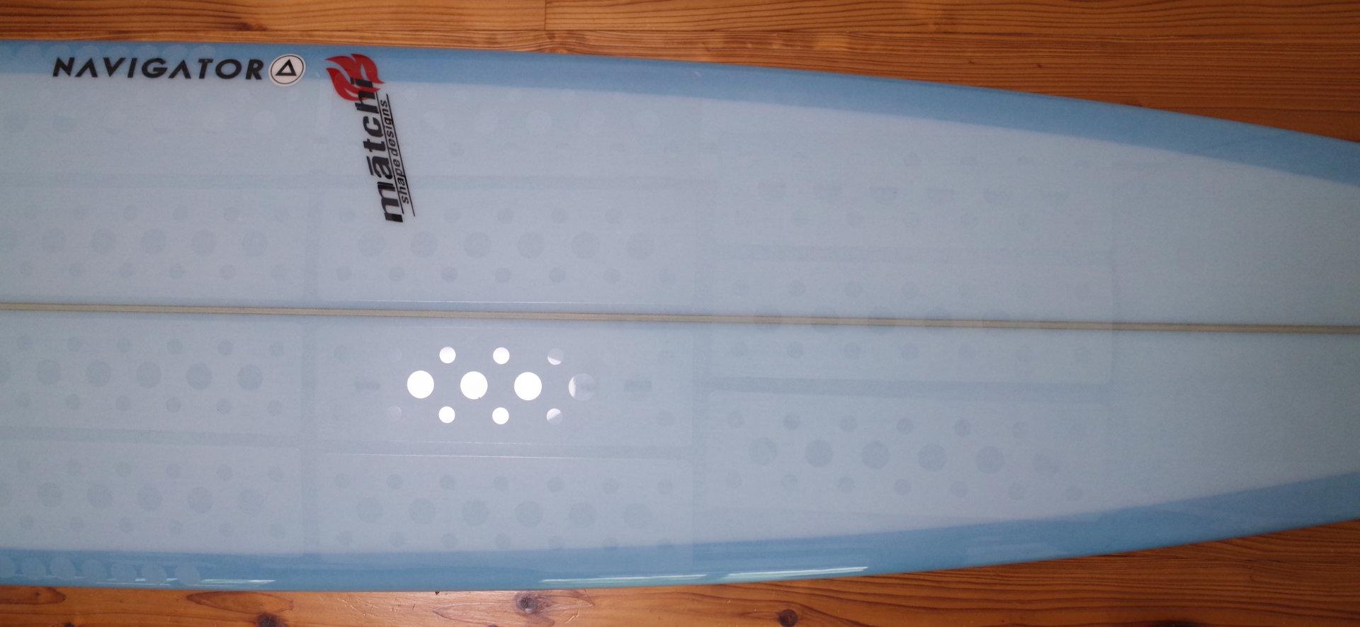 マニューバーラインの「クリスタルグリップ」サーフボード用ワックスシートの全体